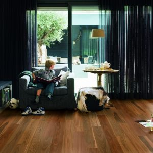 Spotted Gum 1 Strip Matt Brushed